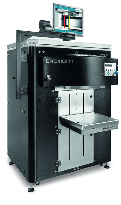 Dromont retail tinting machines for Paint tinting machine
